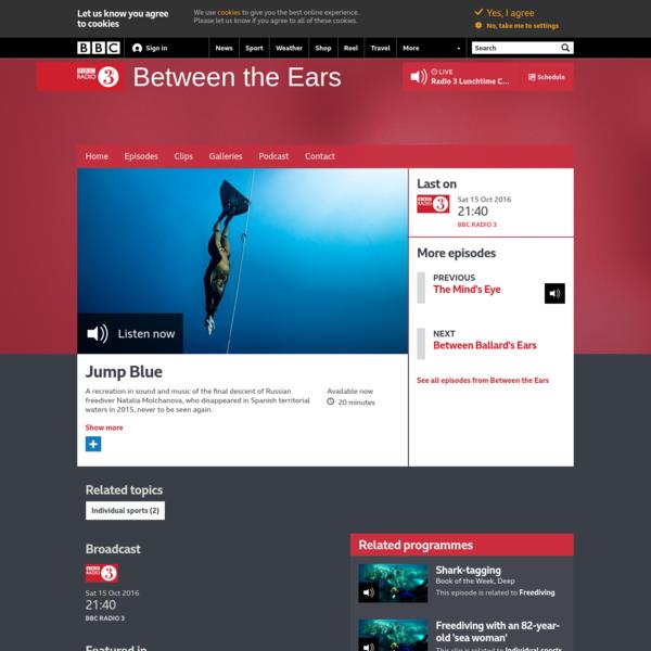 BBC Radio 3 - Between the Ears, Jump Blue