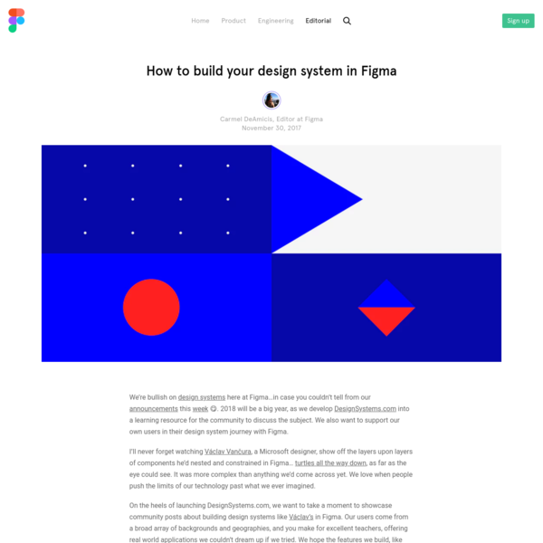 How to build your design system in Figma