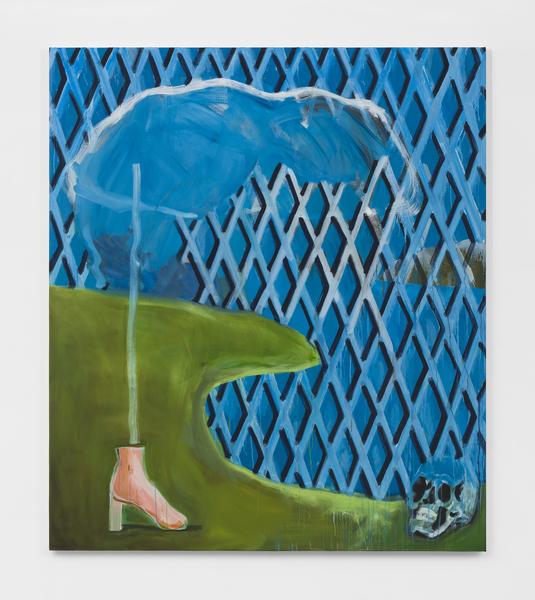 Becky Kolsrud, Shoe / Gate / Landscape, 2018