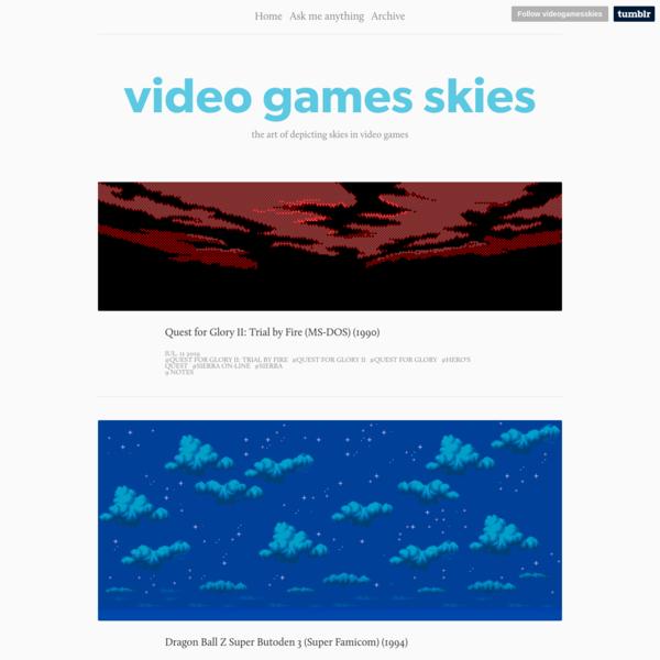 video games skies