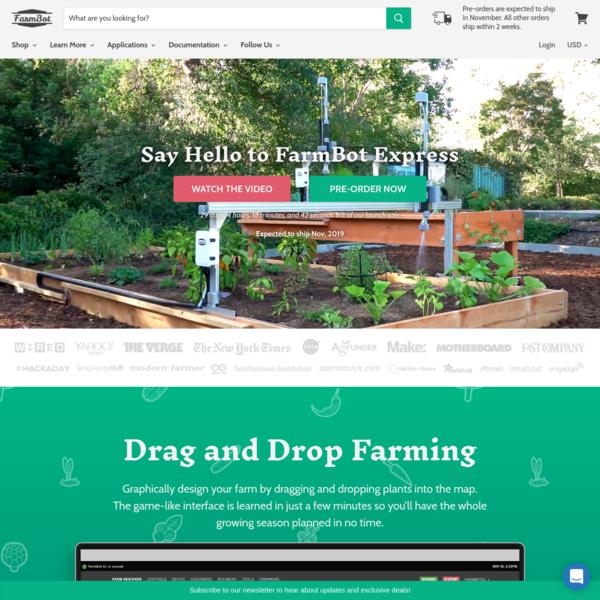 FarmBot   Open-Source CNC Farming