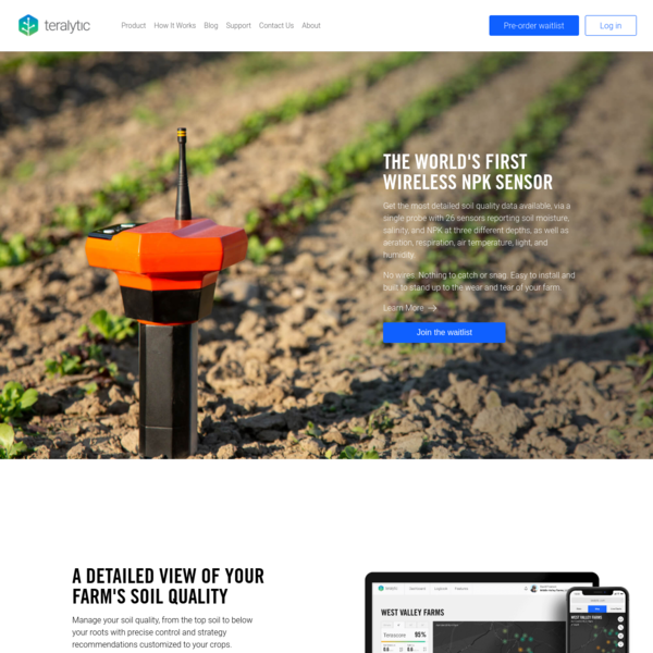 Teralytic - A Soil Health Company