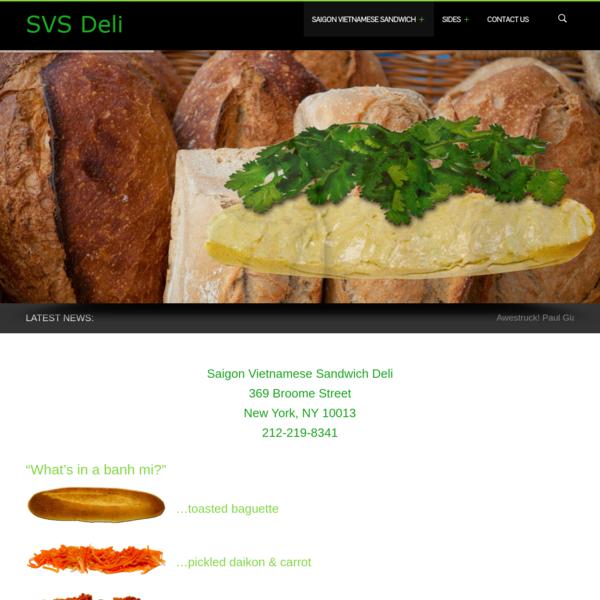 Saigon Vietnamese Sandwich | Simply the Best Hoagies