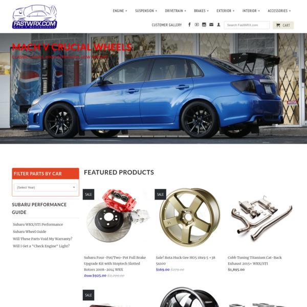 Subaru WRX and STI Performance Parts, Plus the Knowledge to Use Them