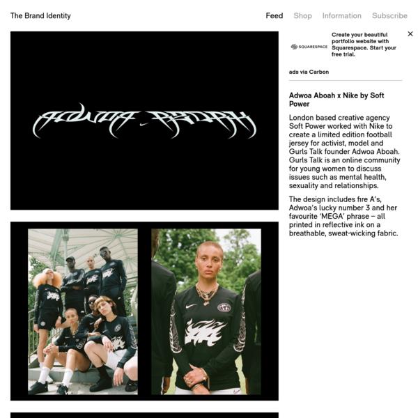 Adwoa Aboah x Nike by Soft Power - The Brand Identity