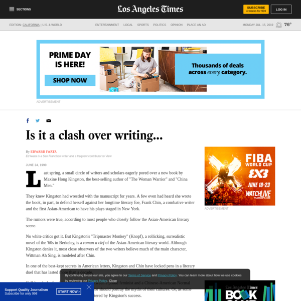Is it a clash over writing...