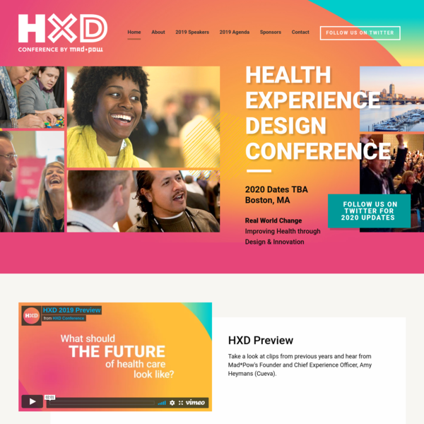 Home - Health Experience Design Conference