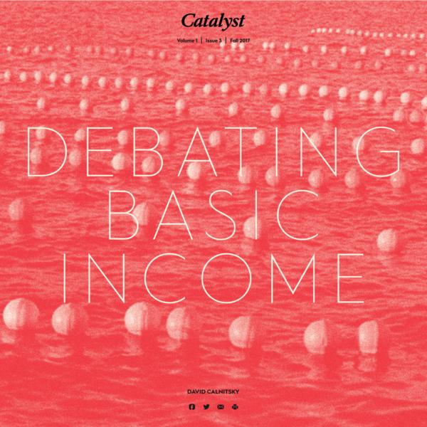 Debating Basic Income