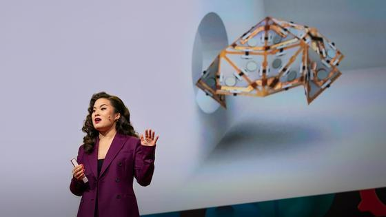 Jamie Paik: Origami robots that reshape and transform themselves