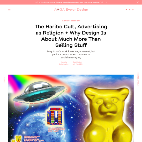 The Haribo Cult, Advertising as Religion + Why Design Is About Much More Than Selling Stuff