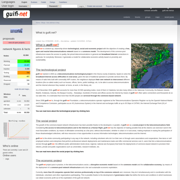 What is guifi.net? | guifi.net