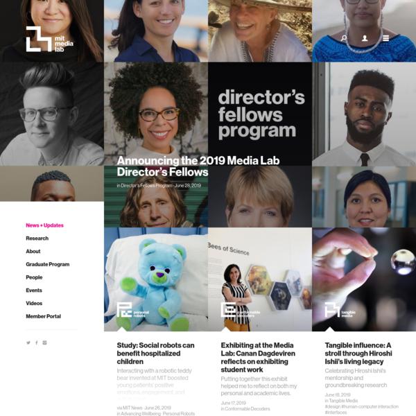 News + Updates - MIT Media Lab