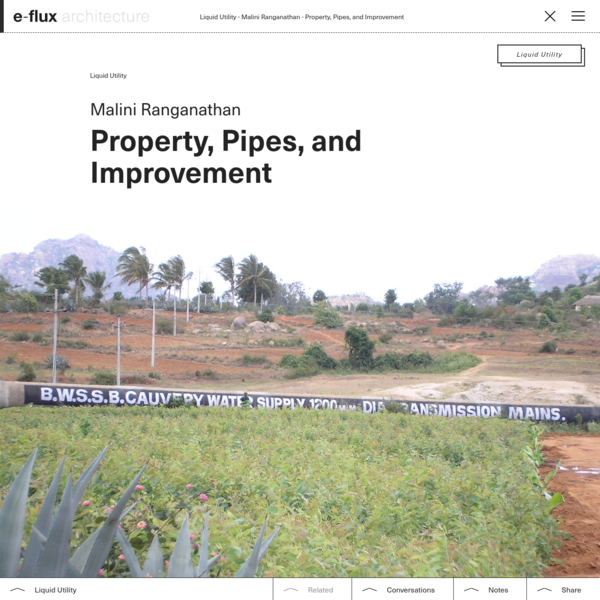 Property, Pipes, and Improvement