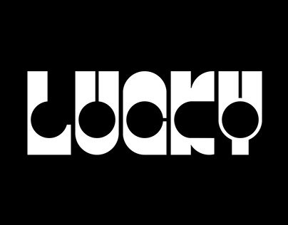 Lucky (font digitization) - Free download
