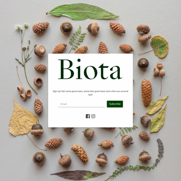 Biota Newsletter