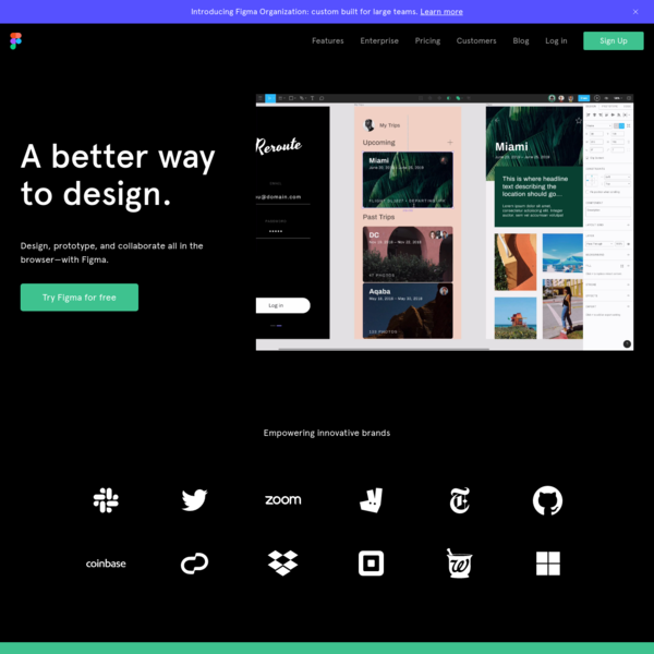 Figma: the collaborative interface design tool.