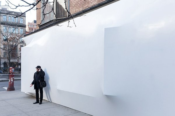 Shrink Wrapping Storefront