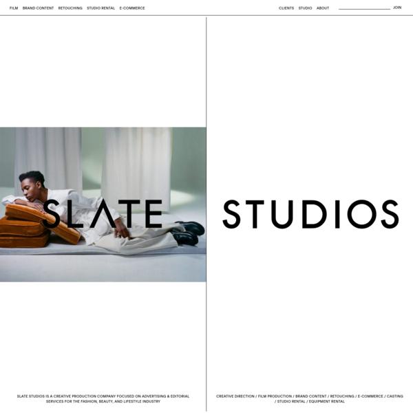 Home Page - Slate Studios