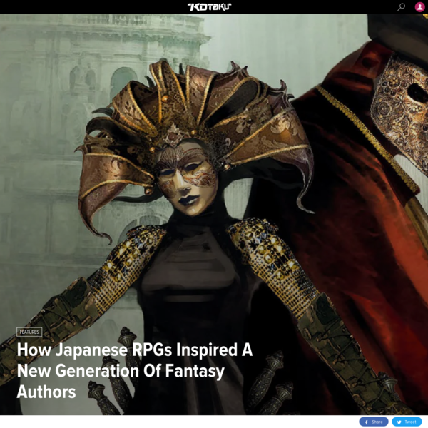 'Final Fantasy' And Other JRPGs That Changed Fantasy Novels