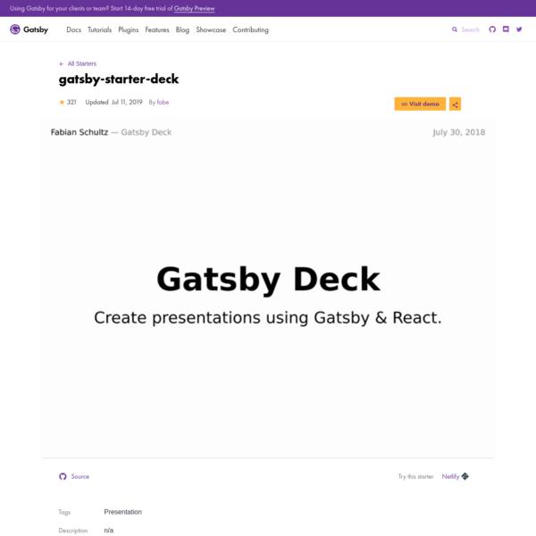 gatsby-starter-deck