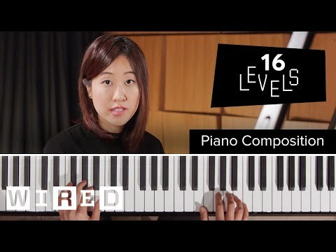 16 Levels of Piano Composition: Easy to Complex | WIRED - YouTube