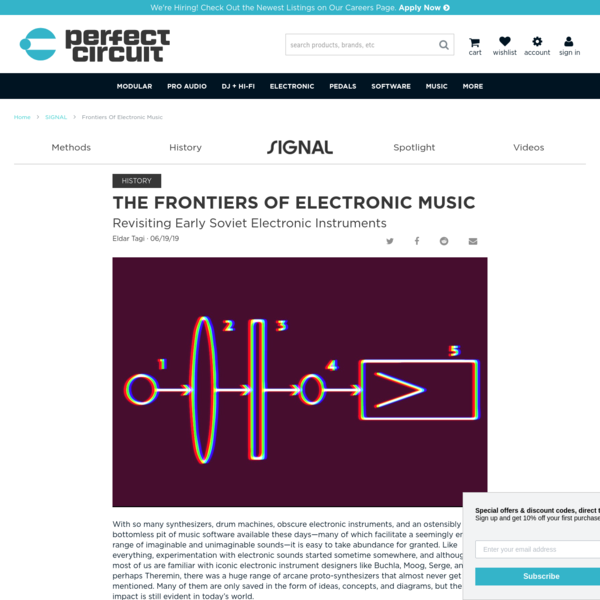 The Frontiers of Electronic Music