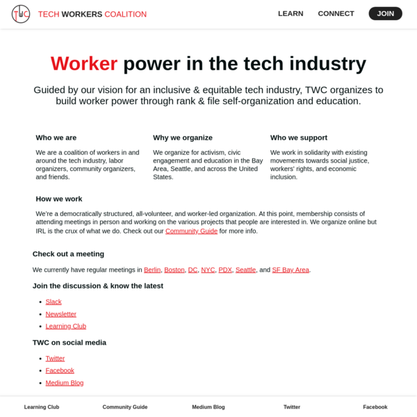 Tech Workers Coalition