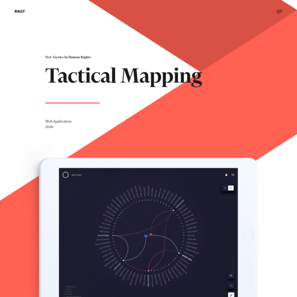 RALLY: Tactical Mapping (New Tactics In Human Rights)