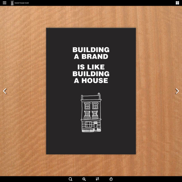 Brand House Book