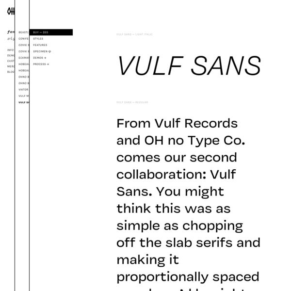 Vulf Sans