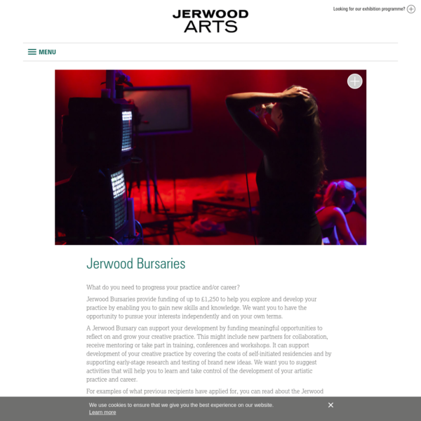 Jerwood Bursaries - Jerwood Arts