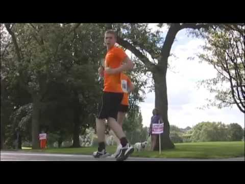 Backwards Running Competition (Video Reversed)