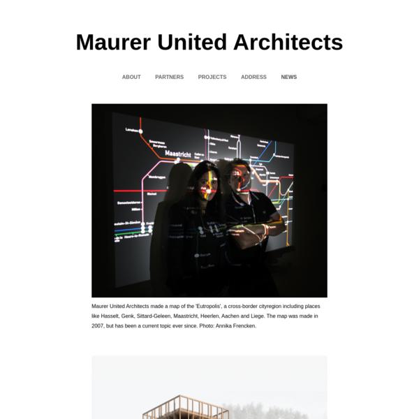 Maurer United Architects [MUA] - maurerunited.com