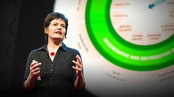 Kate Raworth: A healthy economy should be designed to thrive, not grow