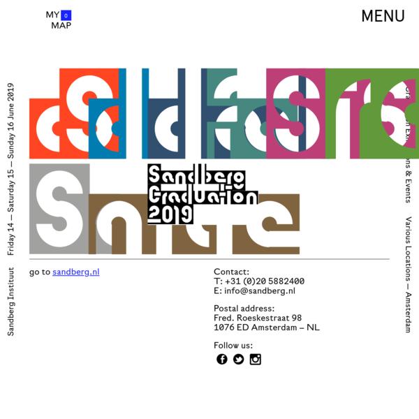 home - Sandberg Graduation 2019 Exhibitions and Events