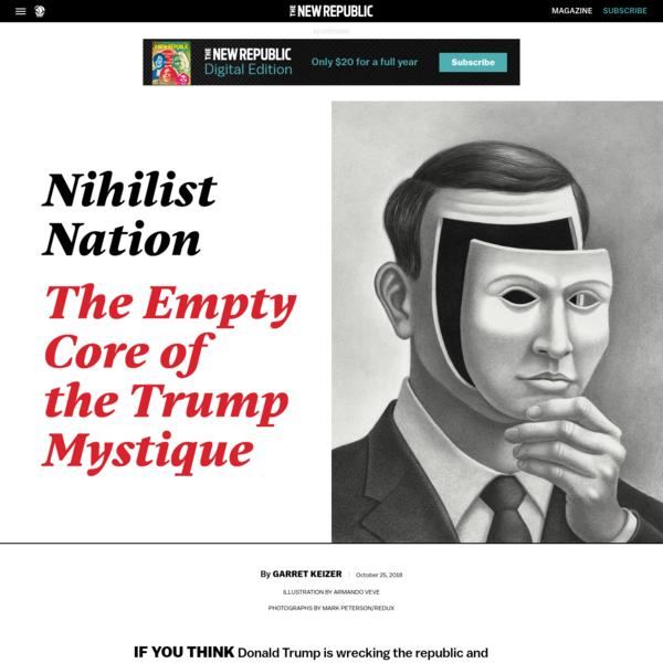 The Empty Core of the Trump Mystique