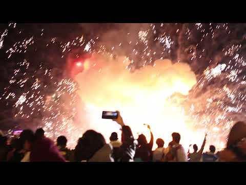 Balloon Crash at Taunggyi Fire Balloon Festival