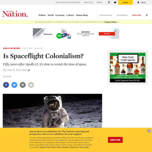 Is Spaceflight Colonialism?