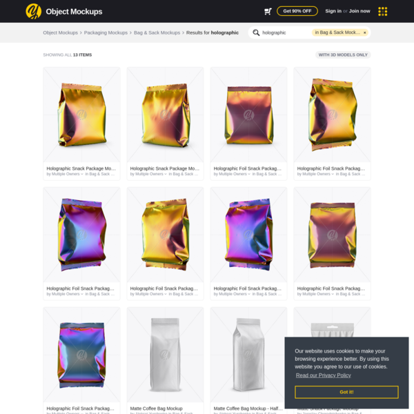 Exclusive Object Mockups and Design Assets on Yellow Images Marketplace