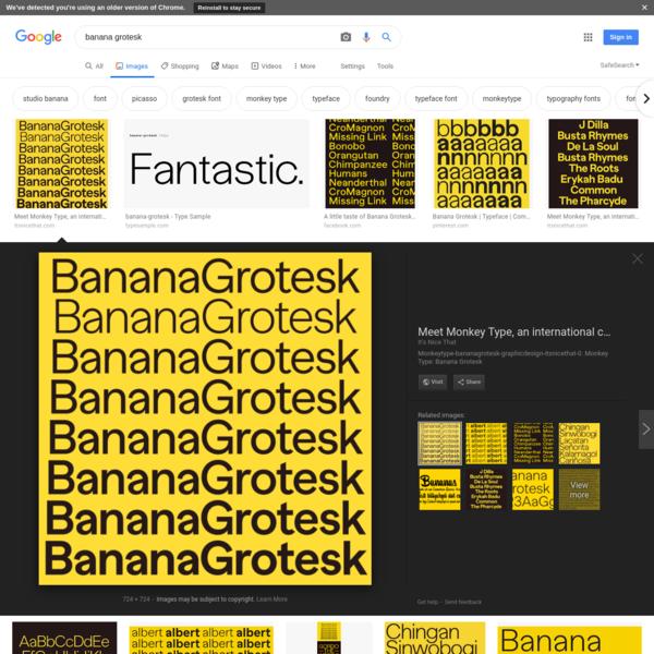 banana grotesk - Google Search
