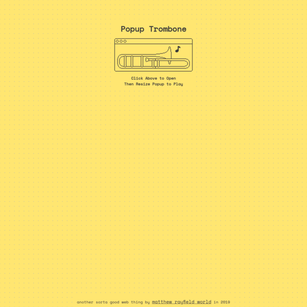 Popup Trombone