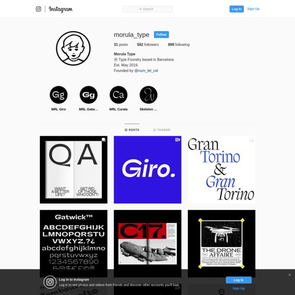 Morula Type (@morula_type) * Instagram photos and videos