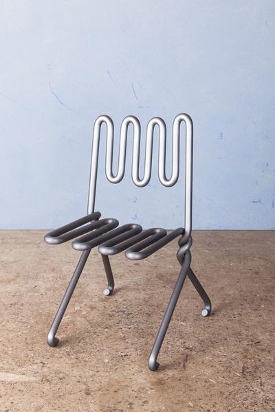 Ali Bar Chair by Max Lamb