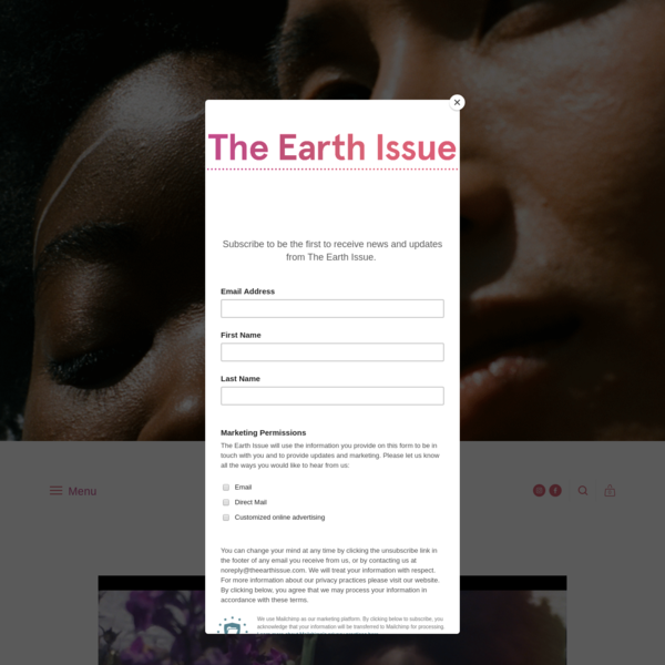 The Earth Issue