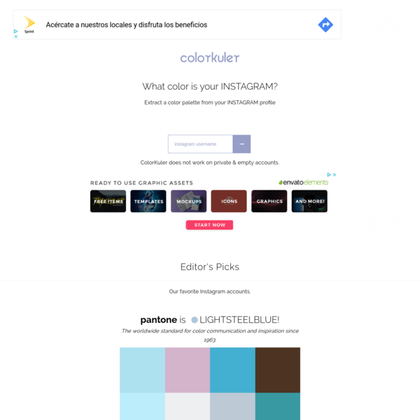 ColorKuler - What color is your instagram?