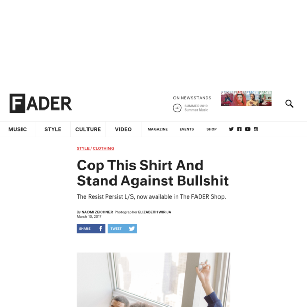 Cop This Shirt And Stand Against Bullshit
