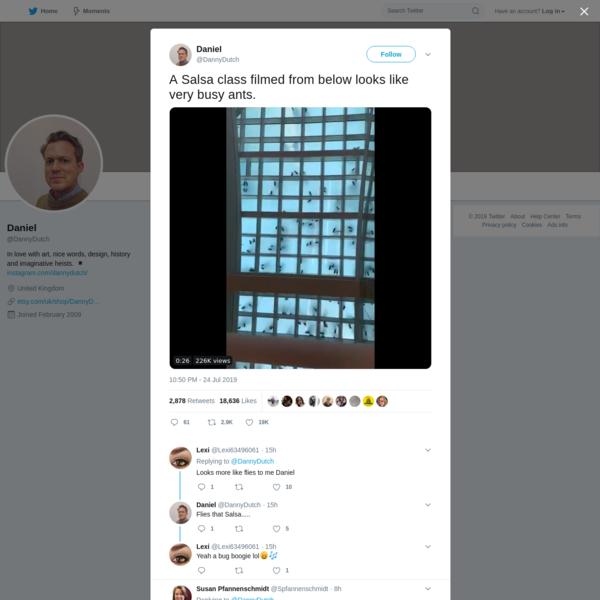 Daniel on Twitter