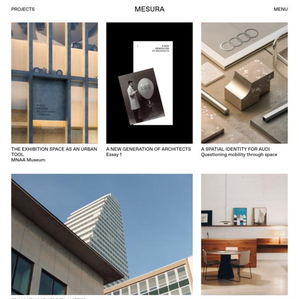 Mesura projects - Architecture and Design Studio