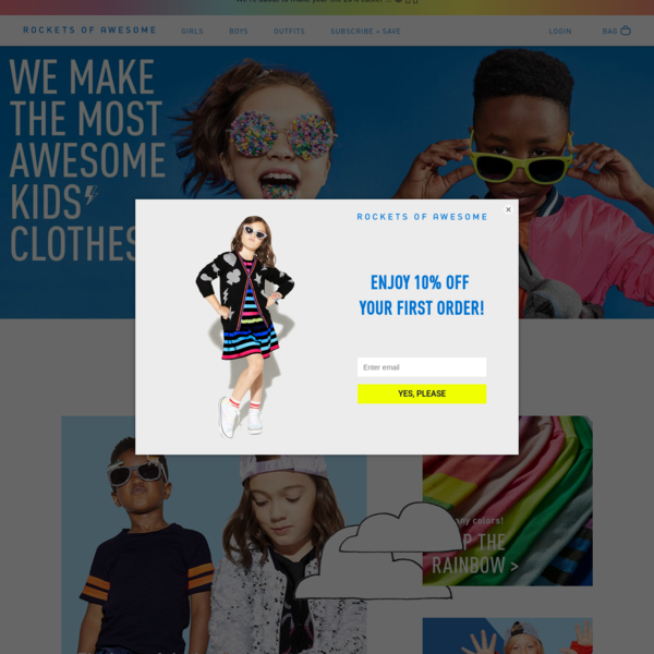 Rockets of Awesome | Extraordinary Clothes for Real Life with Kids