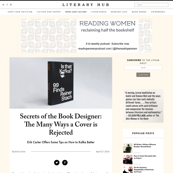Secrets of the Book Designer: The Many Ways a Cover is Rejected